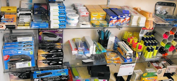 office supplies at Luray Copy Service